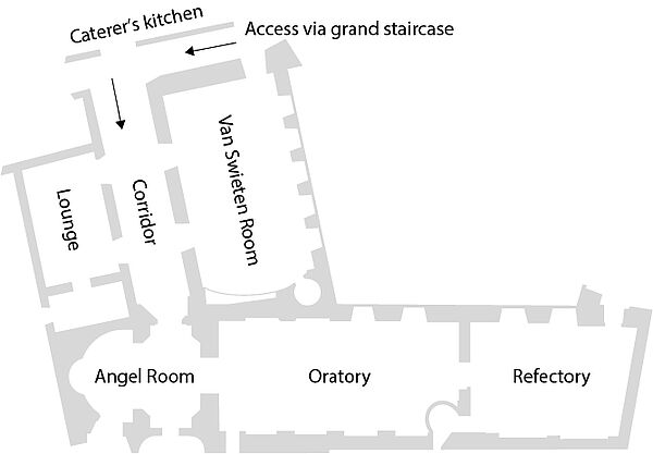 Floor plan Augustinian Wing